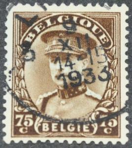 DYNAMITE Stamps: Belgium Scott #228 - USED
