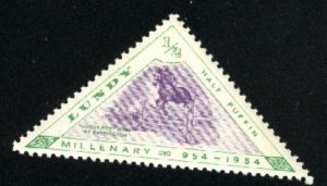 Great Britain - Lundy Island   Mint NH VF 1954  PD