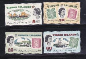 Virgin Islands 169-172 Set MNH Various