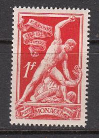 Monaco SC#  210  1948 Bosio MNH