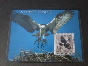 St. Thomas & Prince Islands 2003 Sc 1518 Bird set MNH
