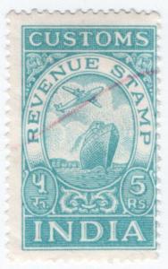 (I.B) India Revenue : Customs 5R