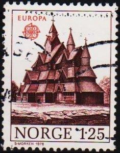 Norway. 1978 1k25 S.G.813 Fine Used