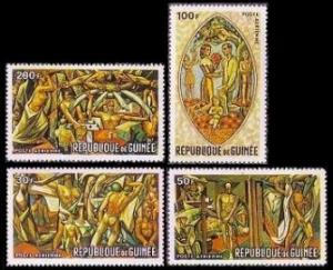 Guinea MNH C96-9 Mankinds Struggle For Peace & Hope