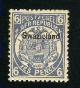 Swaziland #4   Mint NH VF 1889 PD