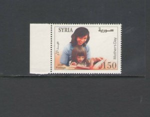 SYRIA: Sc. 1753 /** MOTHER'S  DAY **/  Single / MNH.