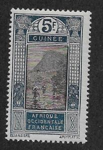 FRENCH GUINEA SC# 104  FVF/MNG    1922