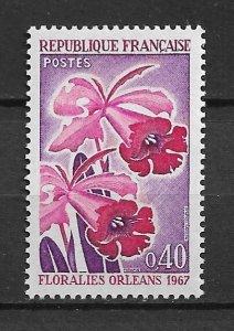1967 France 1192 Orleans Flower Festival MNH