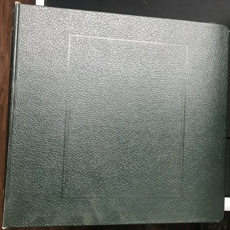 Used US Possessions Scott Specialty Binder and Slipcase