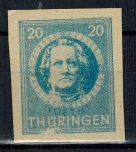 Germany - Russian Zone - Thuringia - Scott 16N7a MNH