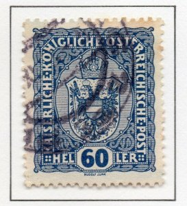 Austria 1916 Early Issue Fine Used 60h. NW-38047