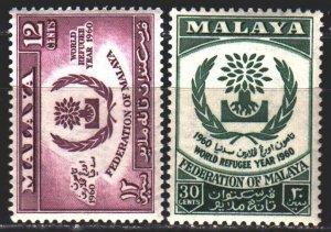 Malaysia. 1960. 59-60. Malaya, refugee assistance. MNH.