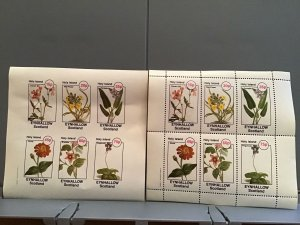 Holy Island Eynhallow Scotland Crane's Bill  Flowers plants  MNH stamps  R24147