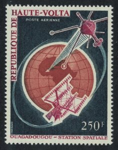 Upper Volta Space Telecommunications 1966 MNH SG#194 CV£5.-