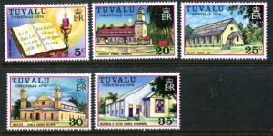 Tuvalu 38-42, MNH, $8.50. Michel 38-42. Christmas 1976. New Testament,   x12122