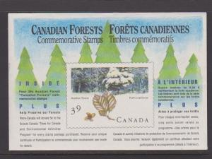 CANADA SOUV.MINIATURE PANE OF 4 STAMPS#1283a LOT#5