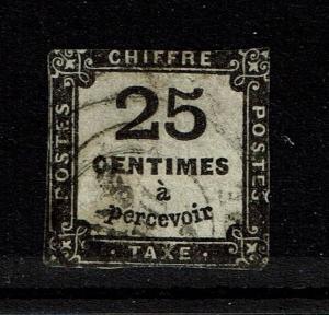 France SC# J6 - Used - Close Margins - Lot 081317