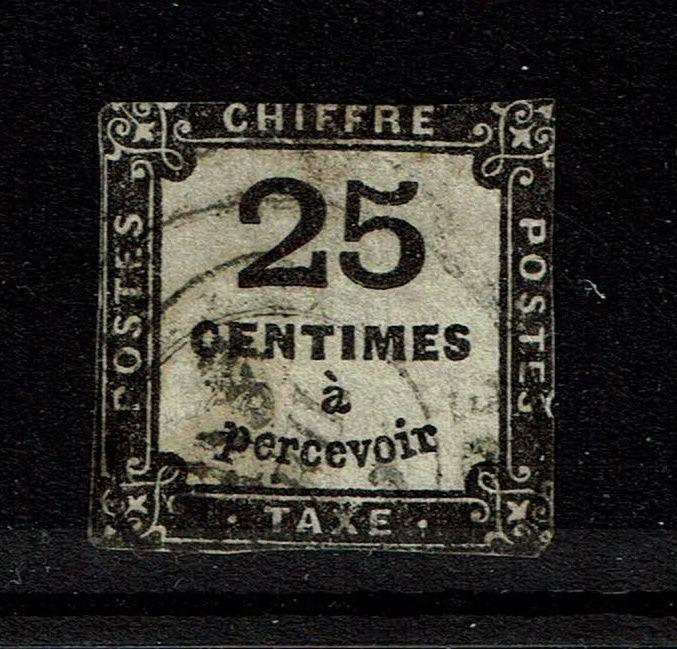 France SC# J6 - Used - Close Margins - Lot 081317