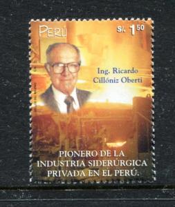 Peru 1251, MNH, Ricardo Cilionisz Oberti 2000. x27034