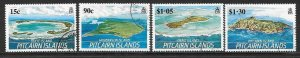 PITCAIRN ISLANDS SG352/5 1989 ISLANDS OF PITCAIRN GROUP  FINE USED
