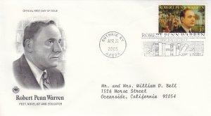 2005, Honoring Robert Penn Warren, PCS, FDC (E11084)
