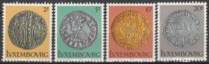 Luxembourg #635-8  MNH F-VF CV $3.05 (V3768)
