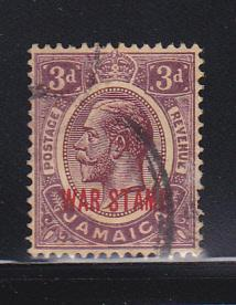 Jamaica MR11 U King George V (B)