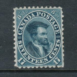 Canada #19 Very Fine Mint Unused (No Gum) **With Certificate**