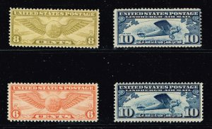 US STAMP AIR MAIL  MH STAMP COLLECTION LOT