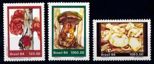 [65739] Brazil 1984 Mushrooms Pilze Champignons  MNH