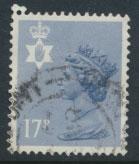 GB Northern Ireland SG NI43 SC# NIMH30  Machin 17p Used  see scan