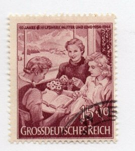 Germany 1943 Early Issue Fine Used 15pf. NW-100705