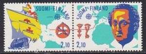 Finland # 885a, Discovery of America, 500th Anniversary, NH, 1/2 Cat.