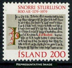 Iceland Scott 518 Mint never hinged.