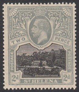 St. Helena 64 MVLH CV $7.50