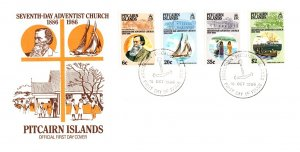 Pitcairn Island, Worldwide First Day Cover
