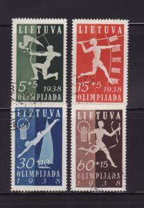 Lithuania B43-B46 Set U Sports (A)