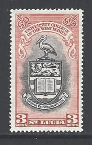 St. Lucia Sc # 149 mint hinged (RS)