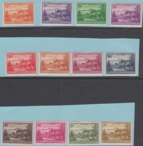 Norfolk Island 1 - 12 Excellent État à Charnières Og - N°Défauts Très Fine