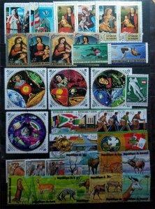 BURUNDI Stamp Lot Used All Different E3553