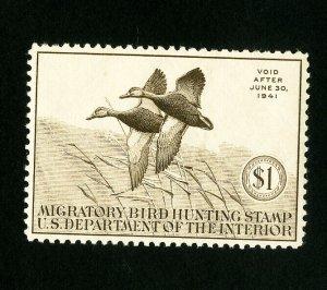 US Stamps # RW7 Superb OG NH Mint State