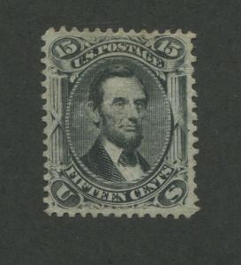 1866 United States Postage Stamp #77 Used VF Removed Cancel Certified