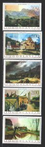 Yugoslavia. 1968. 1298-1302. Works of art. MNH.