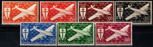 Somali Coast #C1-7 MNH CV $13.95 (X977)