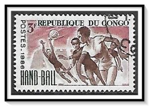 Congo People's Republic #145 Sports CTO NH