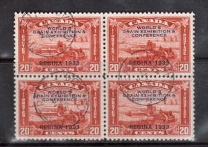 Canada #203 VF Used With Lovely Triple CDS Cancels