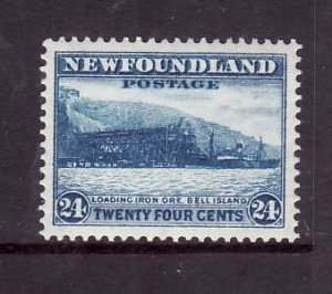 Newfoundland-Sc #210-unused,og, NH 24c Loading Ore-id5-1932-