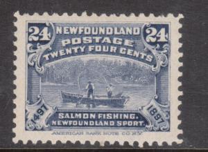Newfoundland #71 VF/NH