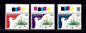 Norfolk Is 389-91 MNH 1986 Christmas