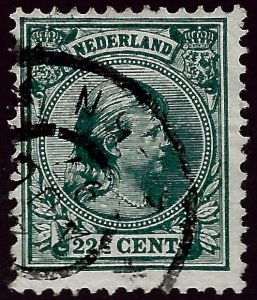 Netherlands #47 Used F-VF... Worth a close look!
